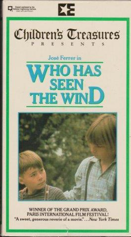 Who Has Seen the Wind (1977 film) Who Has Seen the Wind 1977 To thine own self be true